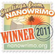 NaNoWriMo 2011 Winner Icon